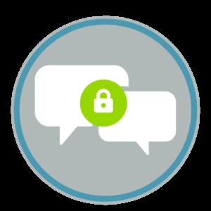 Secure Chat & Self Serve Modules